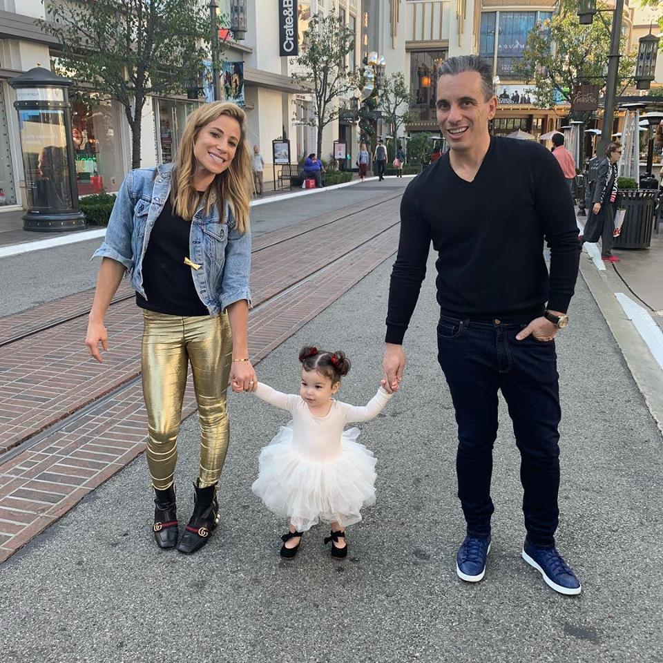 Lana Gomez Sebastian Maniscalco and Daughter Serafina Simone Maniscalco