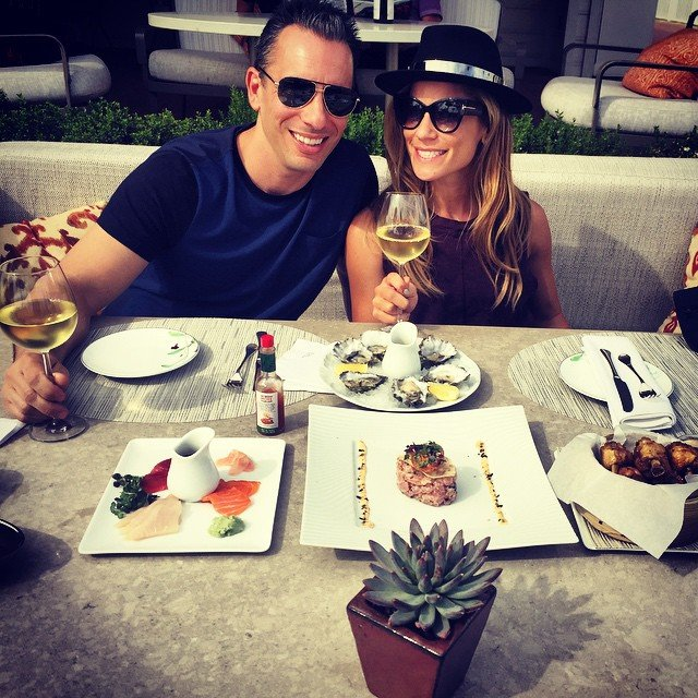 Lana Gomez with husband Sebastian Maniscalco