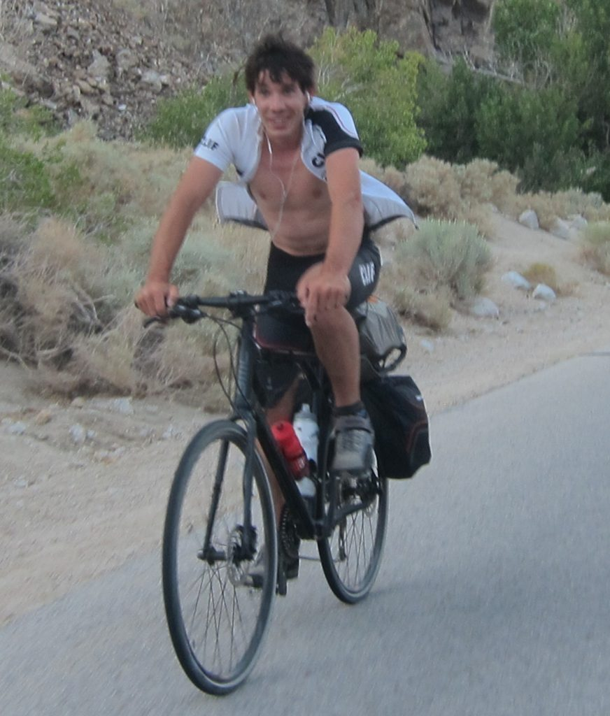 Alex Honnold on Cycling Trip with Sister Stasia Honnold