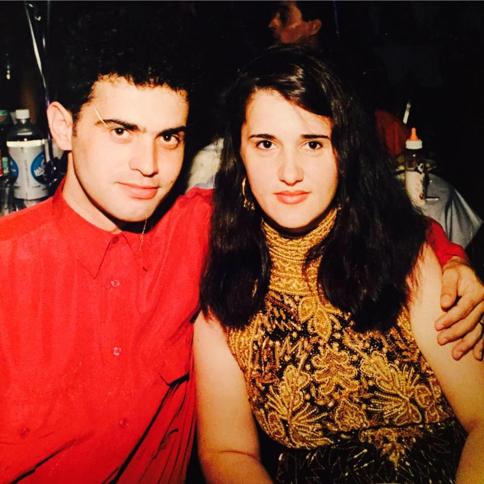 Melinda Father Safet Ademi and Mother when They Were Young