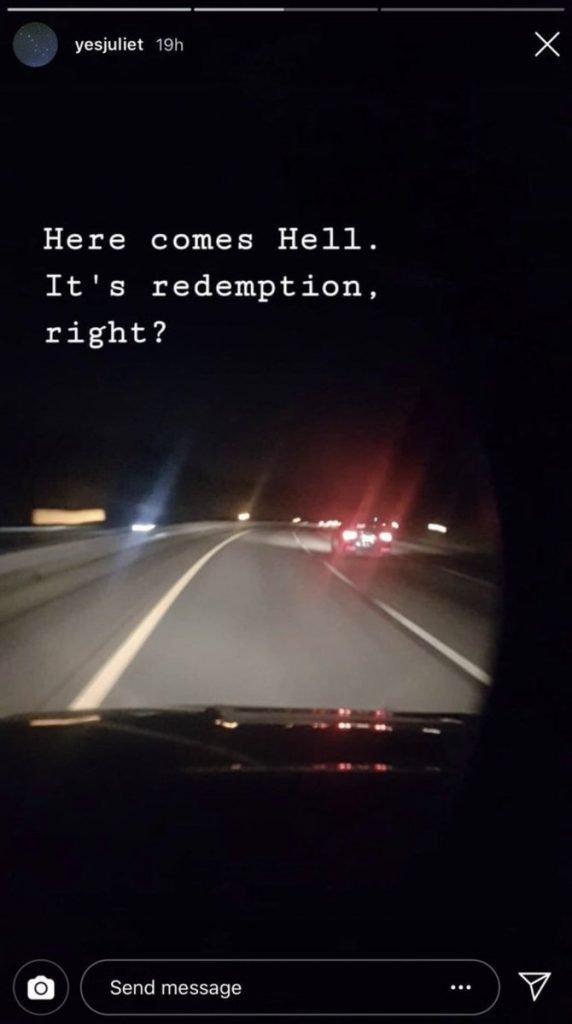 Brandon Clark Instagram Story Hinting Murder