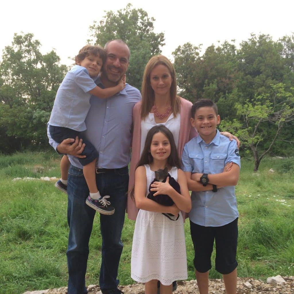 Emanne Beasha with her Father Yanal Beasha, Mother Megan Beasha and Brothers Yahia Beasha and Adam Beasha