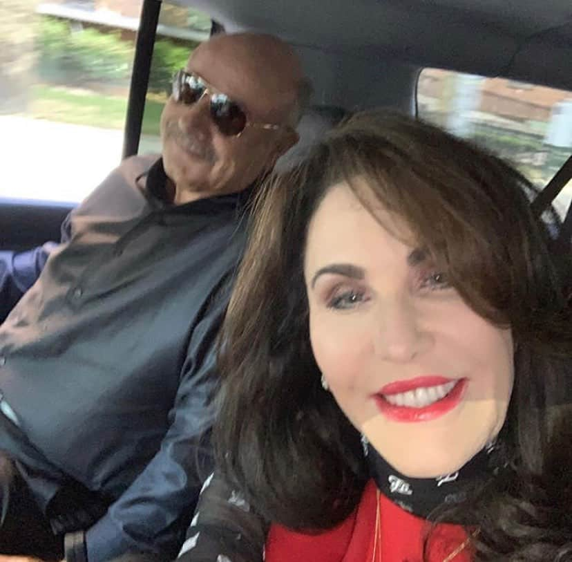 Dr Phil and Robin McGraw Selfie