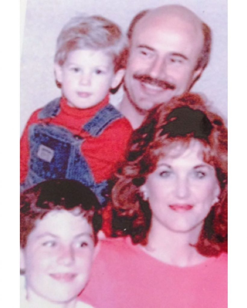 Dr Phil with his Wife Robin McGraw Son Jay McGraw and Jordon McGraw when they were Young