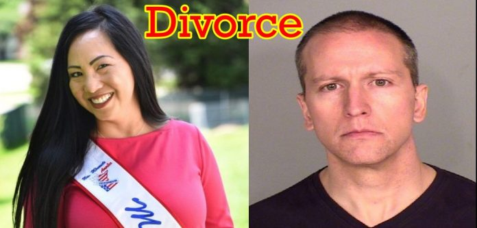 Derek Chauvin wife Kellie Chauvin files for divorce