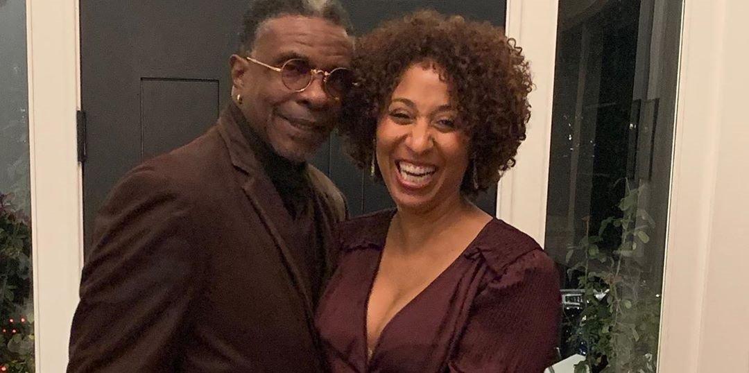 Dionne Lea Williams with husband Keith David